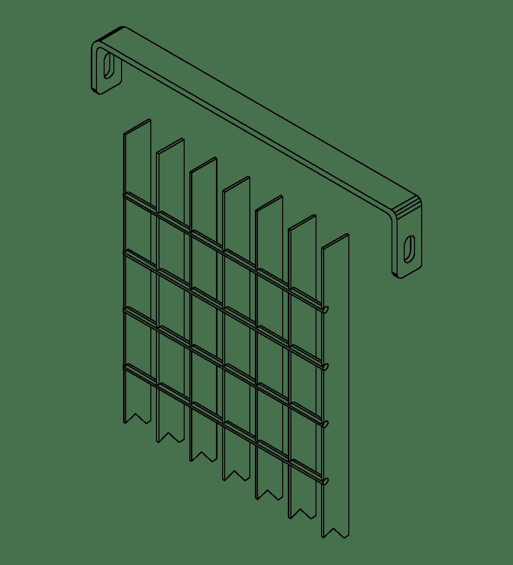 Accessori recinzioni cancelli linea deluxe elementi for Baldassar recinzioni