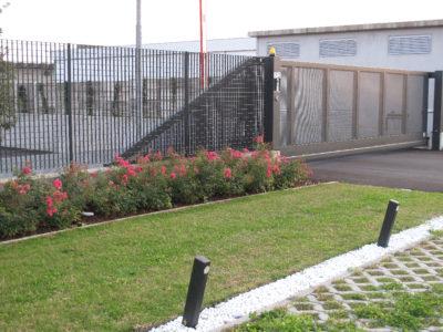 cancello carraio scorrevole sbalzo 1