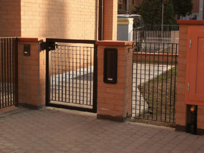 cancello carraio pedonale 1-2 ante 2