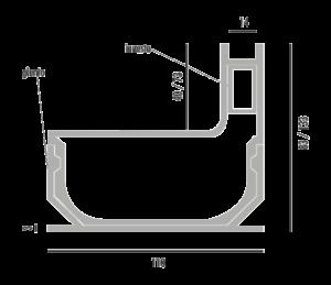 disegno drain tech